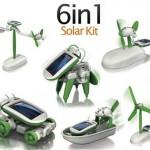 6 en 1 kit solar