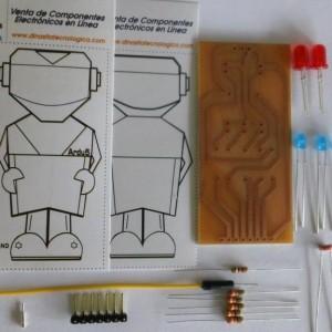 Componentes del Kit Ardu5 para armar