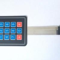 Teclado Matricial 3x4 de Membrana para Arduino